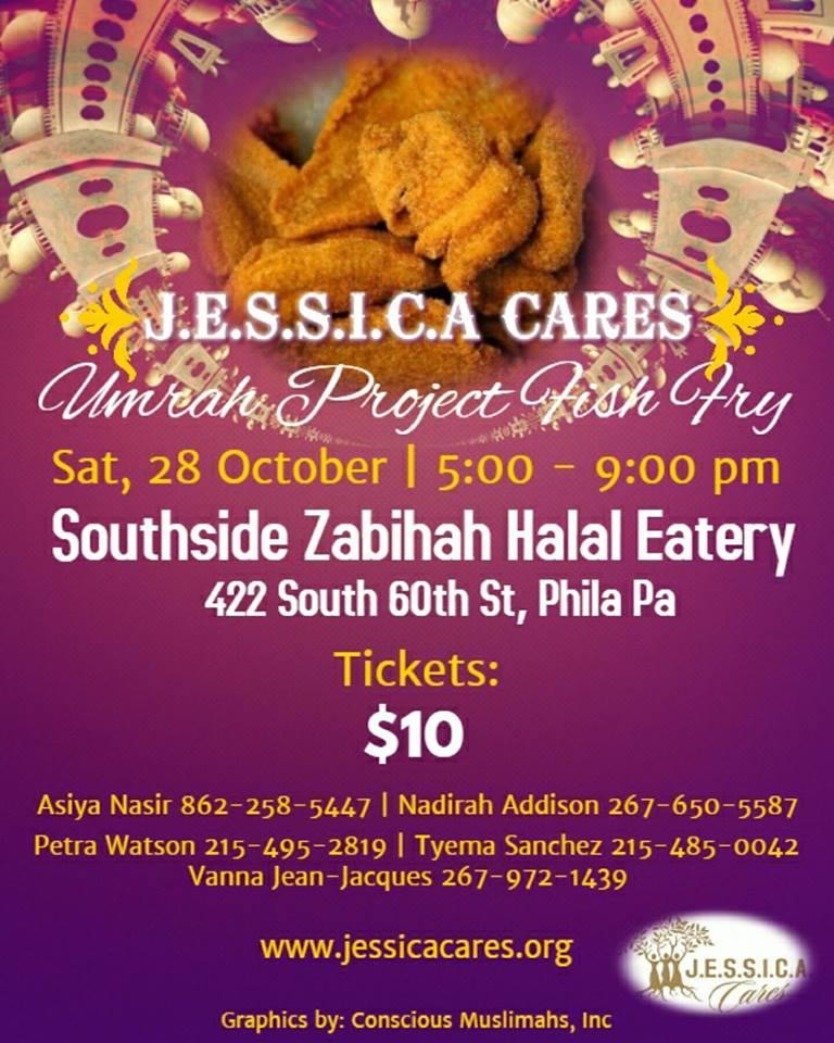 join us at southside zabihah halal eatery to support raising funds for our girls to make umrah in shaa allah in february of 2018 tickets are only 10